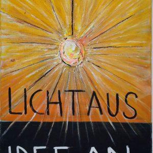Licht aus – Idee AN