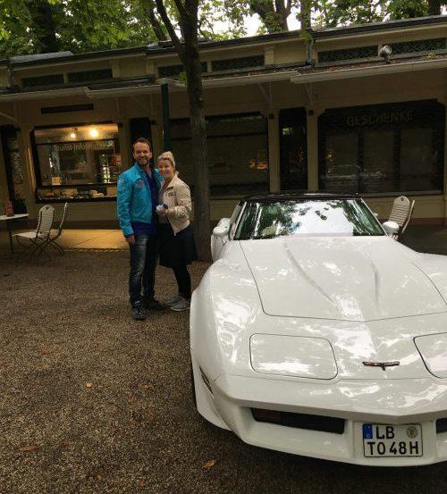 Corvette mit Tina & Oli