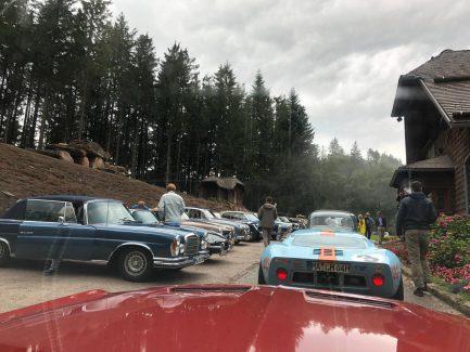 Auffahrt zur Renchtal-Hütte