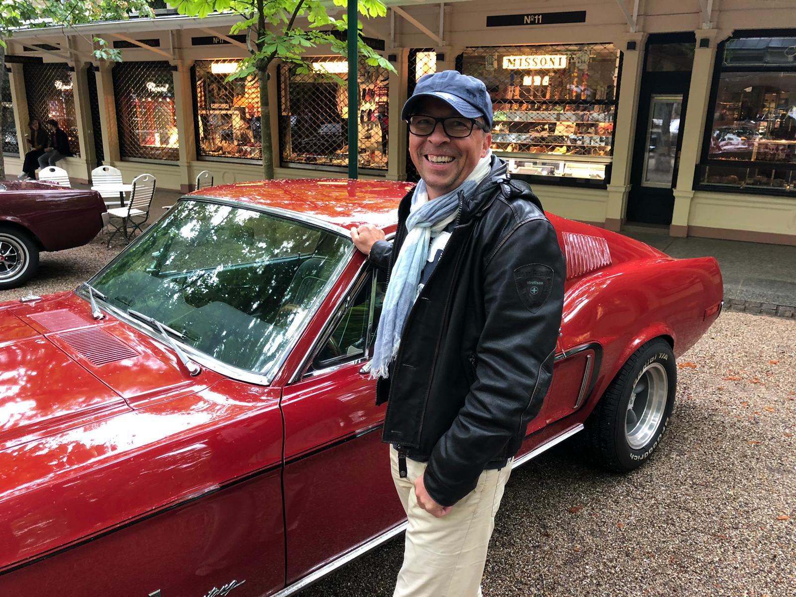 Punk und sein Mustang