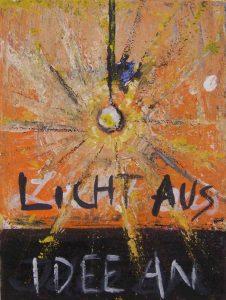 Licht aus Idee an